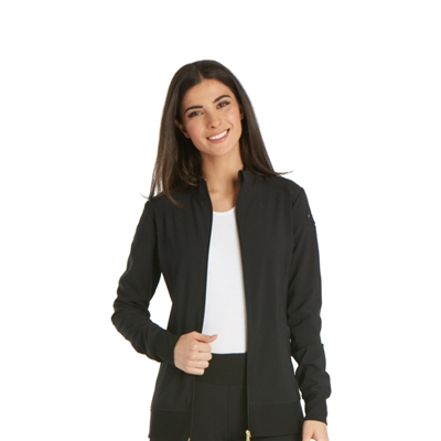 Cherokee CK303 - Zip Front Warm-up Jacket for Carolina Urology