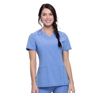 Cherokee CK865A - Infinity Women's V-Neck Solid Scrub Top