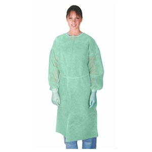Disposable Isolation Gowns - Case of 50 (Colors Vary)