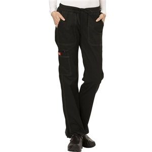Dickies Gen Flex DK100 - Women's Low Rise Straight Leg Scrub Pant