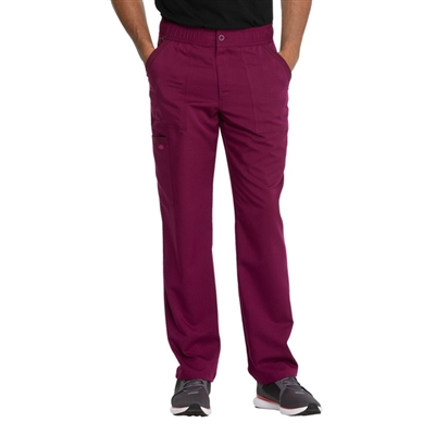 Dickies Advance DK220 - Men's Zip Fly Cargo Straight Leg Solid Scrub Pant