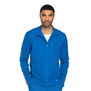Dickies DYNAMIX DK310 - Men's Zip Front Warm-Up Solid Scrub Jacket
