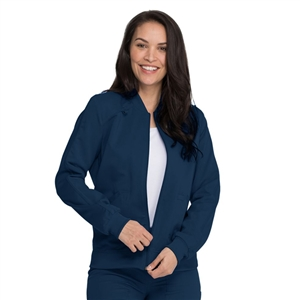 Dickies Balance DK365 - Women's Zip Front Solid Scrub Jacket