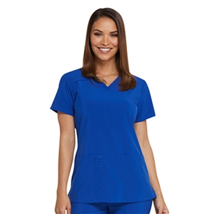 Dickies EDS ESSENTIALS DK615 - Women's V-Neck Solid Scrub Top