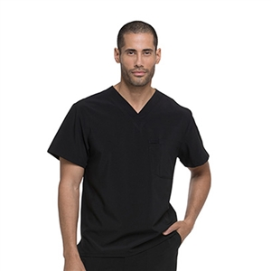 Dickies EDS ESSENTIALS DK635 - Men's V-Neck Solid Scrub Top