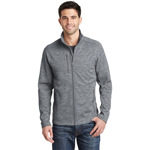 SanMar F231 - Port Authority Digi Stripe Fleece Jacket