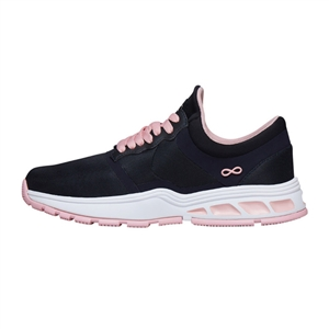 Infinity by Cherokee Women's Fly Athletic Shoe in pattern PWPK - Pewter / Powder Pink