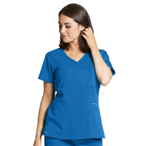 Barco GRST001 - Women's Stretch Surplice Scrub Top