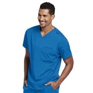 Barco GRST009 - Men's Stretch V-Neck Scrub Top