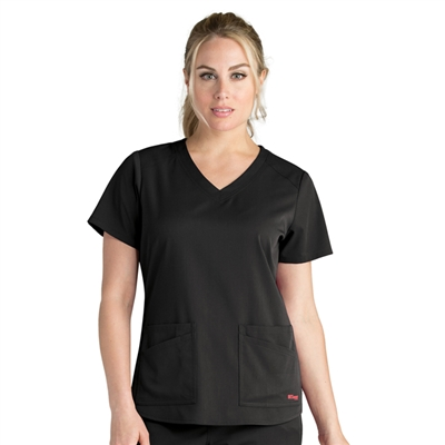 Barco GRST011 - Women's Stretch V-Neck Scrub Top