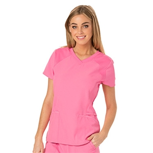 Cherokee HS660 - HeartSoul Women's V-Neck Solid Scrub Top