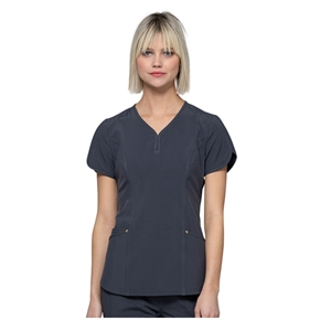 Cherokee HS725 - HeartSoul Women's Graceful Solid Scrub Top