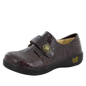 Alegria JOL - 422 Molasses Tooled Leather Oxford