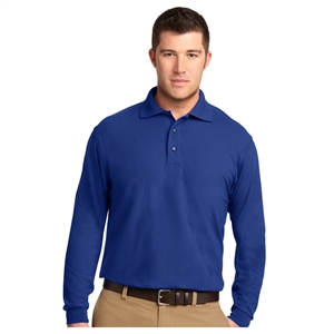 SanMar K500LS - Silk Touch Long Sleeve Polo - Men's