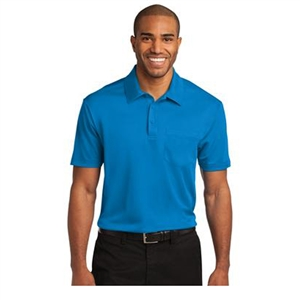 Sanmar K540P - Short Sleeve Silk Touch Performance Polo with Pocket - Men's