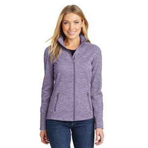 SanMar L231 - Port Authority Ladies Digi Stripe Fleece Jacket