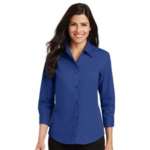SanMar L612 - 3/4 Sleeve Easy Care Shirt - Women's
