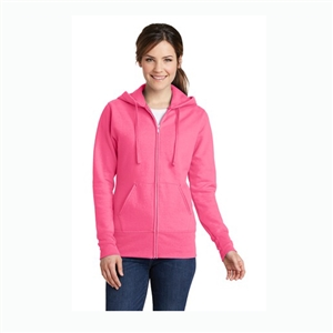Sanmar LPC78ZH - Port & Company - Ladies Core Fleece Full-Zip Hooded Sweatshirt