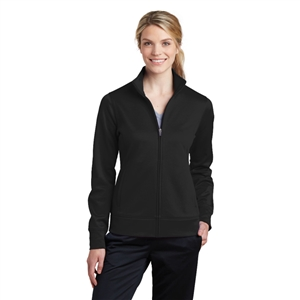 SanMar LST241 - Ladies Sport Wick Fleece Full Zip Jacket for Carilion Franklin Memorial Hospital