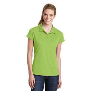 Sanmar LST659 - Sport-Tek Ladies Contrast Stitch Micropique Polo