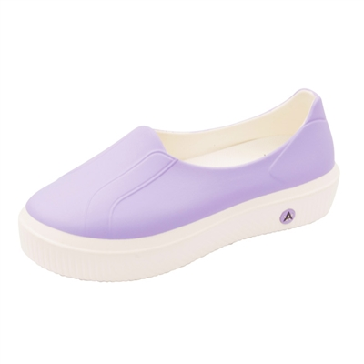 Anywear by Cherokee Women's Rise Slip On Shoe in pattern LVMW - Lavendar / Marshmallow