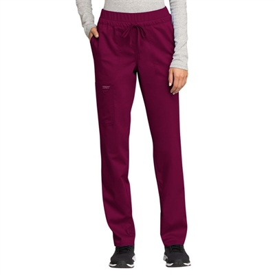 Cherokee WW105 - Revolution Women's Drawstring Tapered Leg Scrub Pant