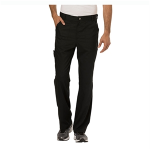 Cherokee Revolution WW140 - Men's Fly Front Cargo Scrub Pant for White Oak