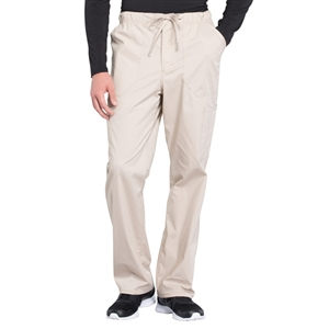 Cherokee Professional WW190 - Men's Tapered Leg Zip Fly Drawstring Scrub Pant