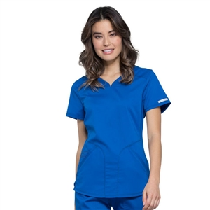 Cherokee WW601 - Revolution Women's V-Neck Solid Scrub Top