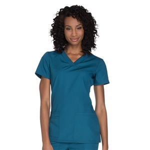 Cherokee WW645 - WW Originals Women's Knit V-Neck Scrub Top