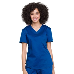 Cherokee WW657 - Revolution Women's V-Neck Tuck-In Solid Scrub Top