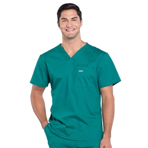 Cherokee Professional WW675 - Men's V-Neck Solid Scrub Top