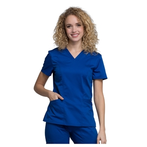 Cherokee WW710 - Revolution Women's V-Neck Solid Scrub Top
