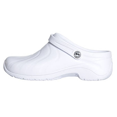 Anywear by Cherokee Women's Zone Convertible Clog in White