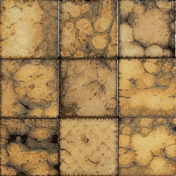 Bristol Studios - Midnight - G2322 Plage - 4X4 Hand Crafted Decorative Tile
