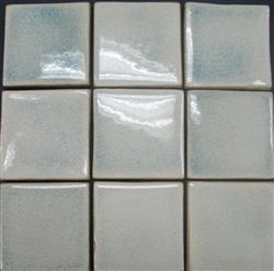 Bristol Studios - Brushstrokes - G2456 Frost - 4X4 Hand Crafted Decorative Tile