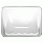 Daltile BA725 Ceramic Soap Dish - 5X7 Shower Bath Tub - 0100 White