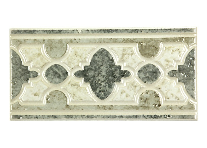 Ceramic Tile Liner Border 4 X 8 Azuvi Scavos Verde Decorative Wall Deco