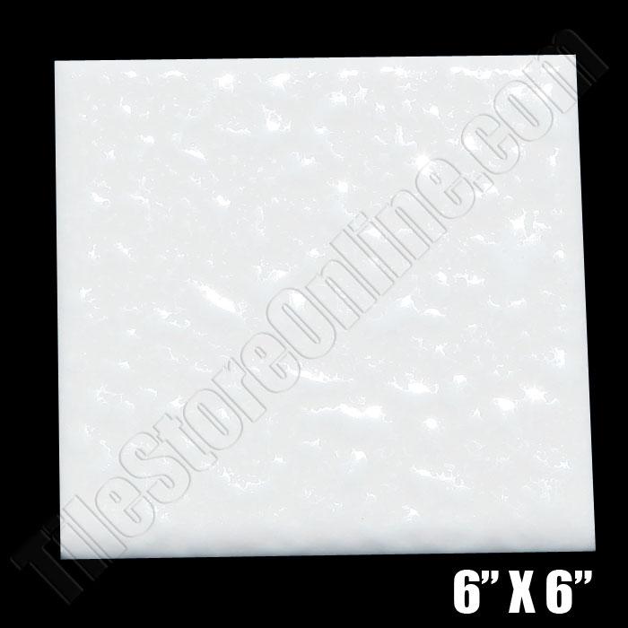 Daltile 0400 Mayan White 6 X Semi Gloss Dal Tile Ceramic