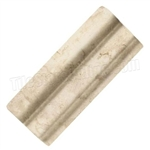 Daltile - Brancacci Arena Windrift Beige - 2 X 6 Chair / Counter Rail - Dal Tile Ceramic Trim Tile