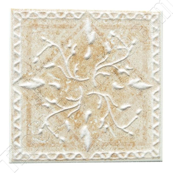 Daltile Belleview Bv07 Rustic Gold Ceramic Tile Deco 6 X Dal Decorative Wall Insert