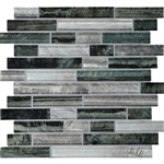 Daltile Tiger Eye Glass - TE24 Indo - Random Linear Dal Tile Glass - Glossy