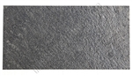 Thin Slate Veneer - 12 X 24 Galaxy Black Thin Mica Slate