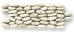 Stacked Standing River Rock Pebble Stone - SP 103 Cloud - Interlocking River Rock Pebble Stone