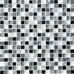 Eclipse Vintage - 5/8 X 5/8 Blend of Natural Stone and Glossy Glass Tile