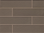 Manhattan Glass Subway Brick Plank - 4 X 16 Ash - Gloss Finish