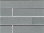 Manhattan Glass Subway Brick Plank - 4 X 16 Coast - Gloss Finish