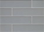 Manhattan Glass Subway Brick Plank - 4 X 16 Coast - Matte Frost Finish