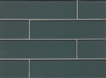 Manhattan Glass Subway Brick Plank - 4 X 16 Concrete - Gloss Finish