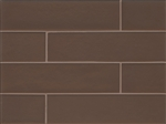 Manhattan Glass Subway Brick Plank - 4 X 16 Grand - Matte Frost Finish